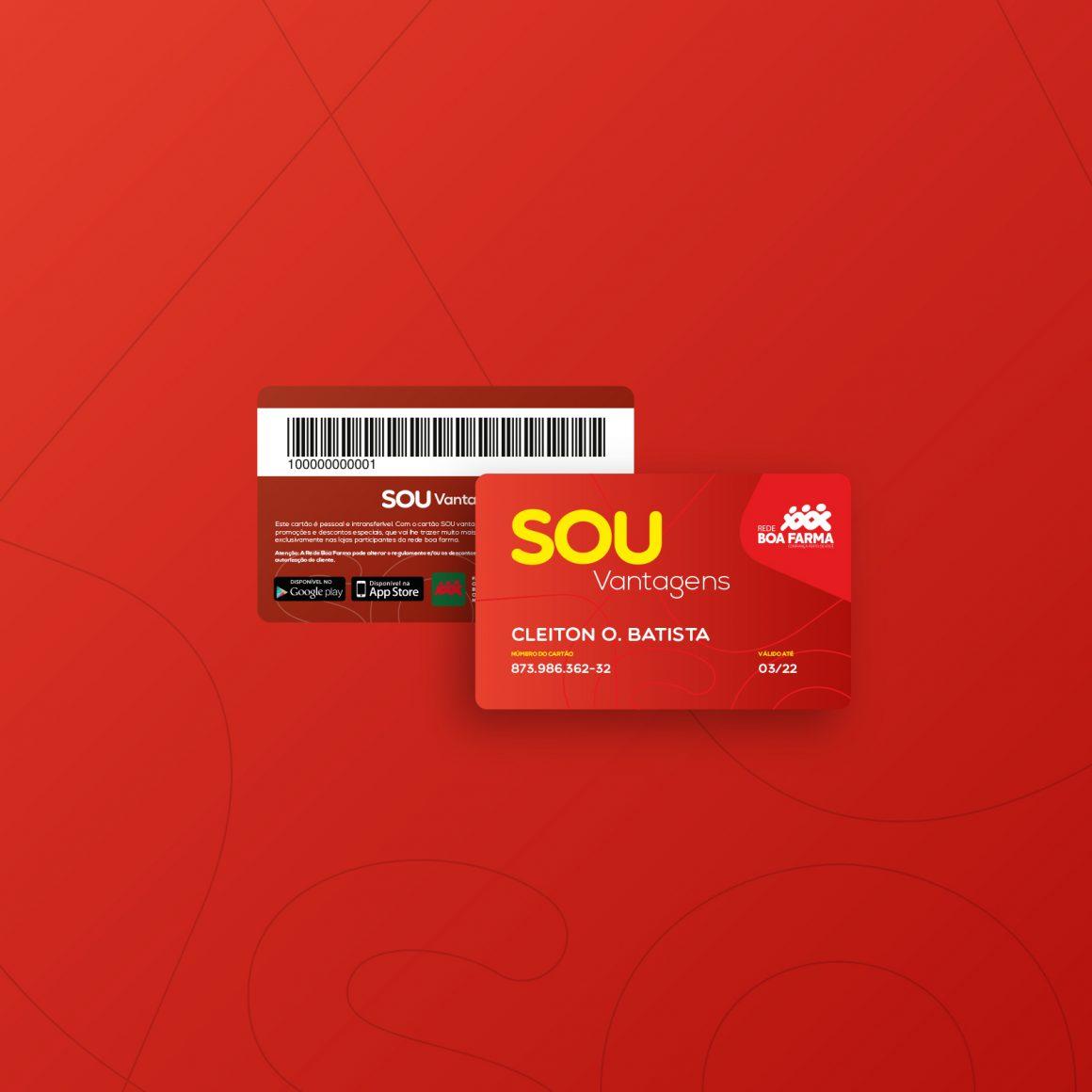 Cartão SOU Vantagens