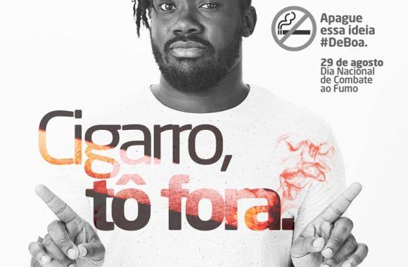 29 de agosto-Dia Mundial de Combate ao Fumo.